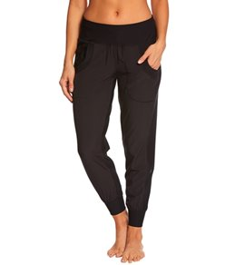 MPG Women's Solid Jogger Mix Sweatpant
