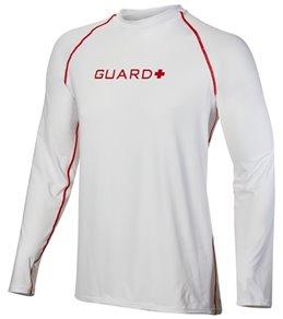 TYR Men's Lifeguard Long Sleeve Rashguard