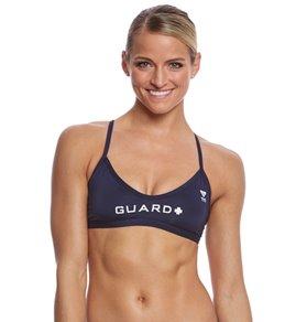 TYR Women's Lifeguard Crosscutfit Bikini Top