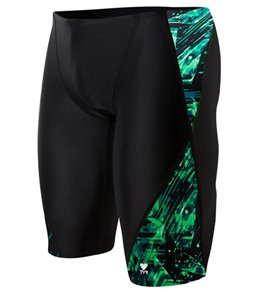 TYR Men's Vitrum Blade Splice Jammer Swimsuit