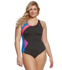 Aqua Sphere Women's Plus Size Amelia One Piece Swimsuit