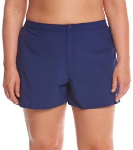 Adidas Women's Plus Size Woven Swim Short