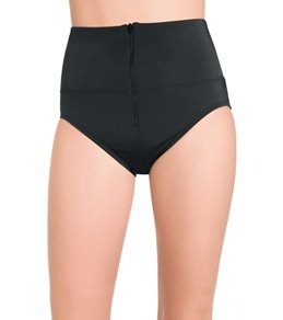Active Spirit Women's Techkini Zippered Brief Swimsuit