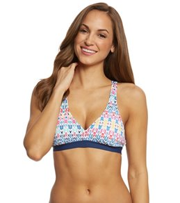 Cole of California Bali Beat Triangle Bikini Top