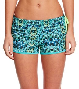 Hurley Women's Phantom Block Party Mosaic 2.5 Beachrider Boardshort
