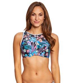 Profile Blush Island Hopping High Neck Bikini Top