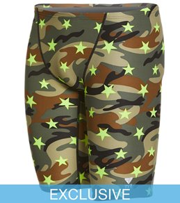 TYR Men's Camo Star All Over Jammer Swimsuit