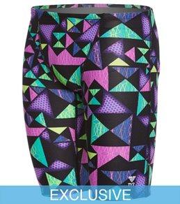 TYR Men's Kaleidoscope All Over Jammer Swimsuit