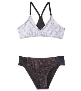 Reef Girls' Tonight's The Night Bralette Bikini Set (7-14)