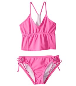 Reef Girls' Cove Solid Bralette Bikini Set (7-14)