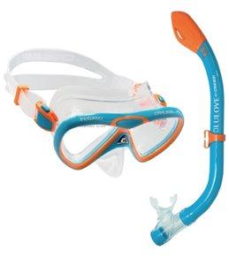 Cressi Kids' Pegaso Mask and Iguana Snorkel Set