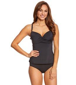 Skye Swimwear Solid Coco Tankini Top (D Cup)