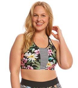 Skye Plus Size Elysian Fields Adley High Neck Bikini Top