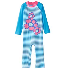 eee36d5db6925 Coolibar Girls' UPF 50+ Beach One Piece Swimsuit (6-24mos)