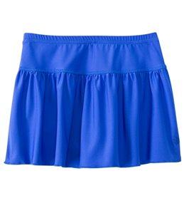 Coolibar Girls' UPF 50+ Solid Swim Skirt (4-12)