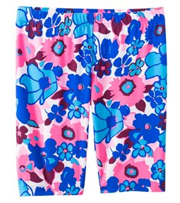 Coolibar Girls' UPF 50+ Printed Swim Shorts (4-12)