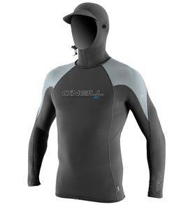 ONeill Mens Skins OZone Long Sleeve Hooded Rashguard