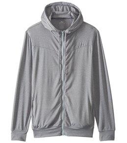 ONeill Mens 24-7 Hybrid Zip Long Sleeve Surf Hoodie,Cool Grey/Cool Grey