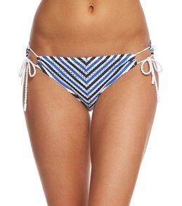 Jessica Simpson Swimwear Maritime String Hipster Bikini Bottom