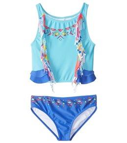 Limeapple UPF 50+ Cali Two Piece Bikini Set (6mos-4T)