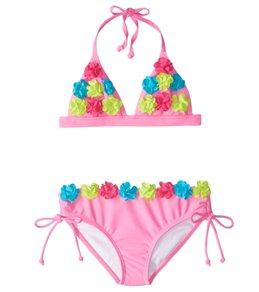 Limeapple UPF 50+ Ginger Two Piece Bikini Set (6mos-4T)