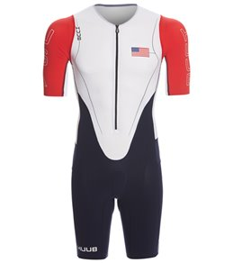 Huub Men's Dave Scott USA Long Course Sleeved Tri Suit