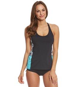 Beach House Sport Women's Standout Tropical Neti Tankini Top