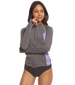 Xcel Women's Thalia Long Sleeve Front Zip Surf Tee