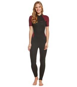Xcel Women's 2MM Leslie Back Zip Short Sleeve Fullsuit Wetsuit