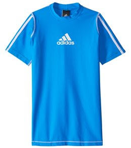 Adidas Boys' Short Sleeve Swim Tee (Big Kid)