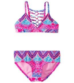 Raisins Girls' Cha Cha Cha Soul Sister Bikini Set (7-16)