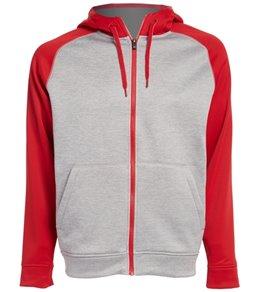 Adidas Men's Team Issue Full Zip Fleece