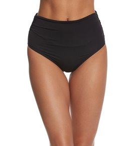 Coco Rave Solid Remi High Waist Bikini Bottom