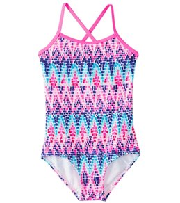 Kanu Surf Girls' Candy One Piece Swimsuit (2T-4T)