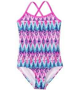 Kanu Surf Girls' Candy One Piece Swimsuit (7-14)