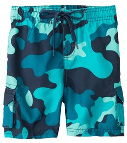 Kanu Surf Boys' Camo Swim Trunks (8-20)