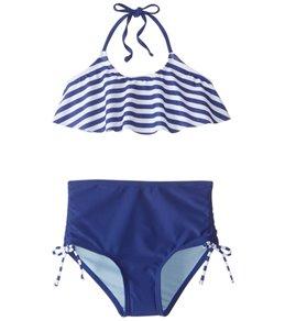 Gossip Girls' Ships Ahoy Bikini Set (7-16)