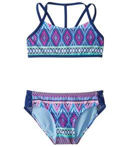 Gossip Girls' Stripe Fusion Bikini Set (7-16)