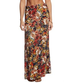 Lucy Love Harvest Wrap Maxi Skirt