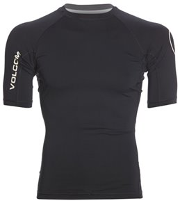 Volcom Men's Lido Solid Short Sleeve Rashguard