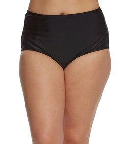 ClubSwim Couture Plus Size High Waist Swim Brief Bottom