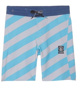 Volcom Boy's Stripey Half Stoney Boardshort (8-20)