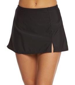 Shape Solver Solid Skirted Bikini Bottom