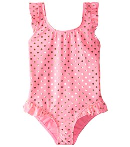 Hula Star Girls' Milkshake One Piece Swimsuit (2T-6X)