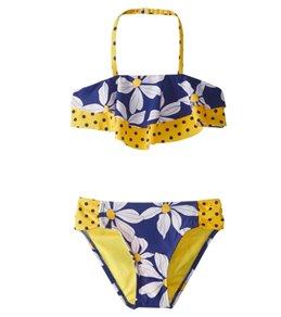 Hula Star Girls' Daisy Chain Bikini Set (2T-6X)