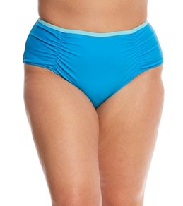Paramour Plus Size Zanzibar High Waisted Bikini Bottom