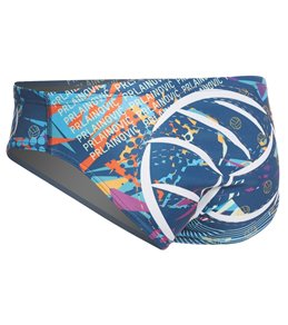 Keel Men's Extravaganza Water Polo Brief Swimsuit