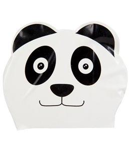 Sporti Cartoon Panda Latex Swim Cap Jr.