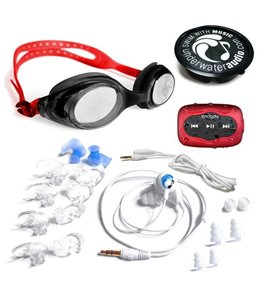 Underwater Audio SYRYN 8GB MP3 Player with Swimbuds Sport Headphones and Goggle