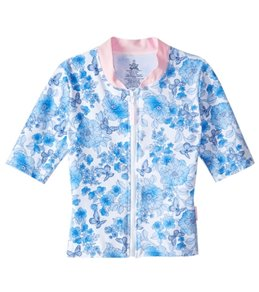 Platypus Australia Girls' Vintage Floral S/S Sun Jacket (18mos-8)